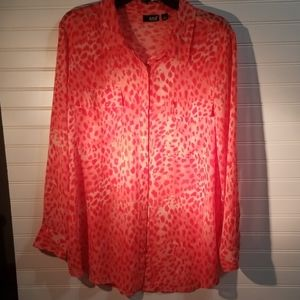 Ana button down xl blouse